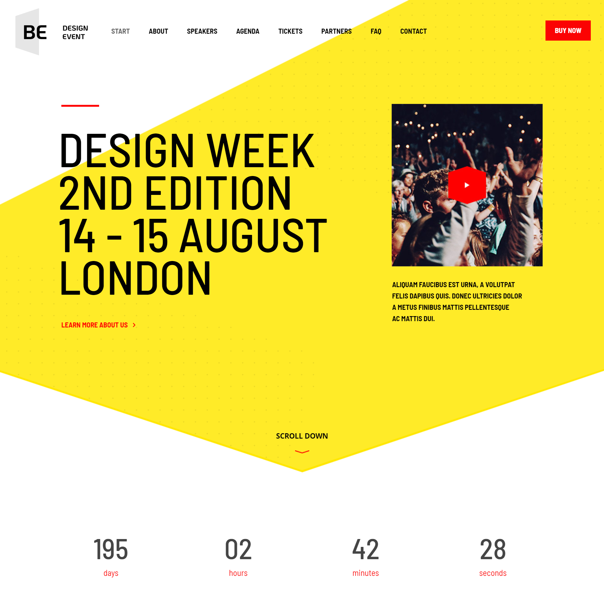 Web Design One Page Package