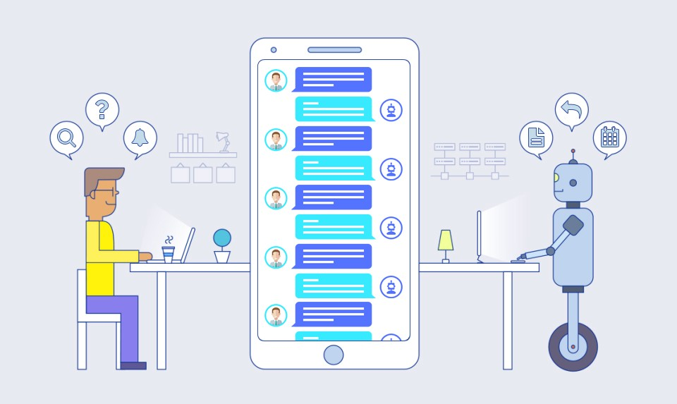 chatbots, inonext, 2020 web design trends