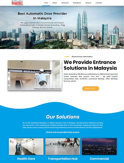 Simtec Automation, Entrance Solutions in Malaysia